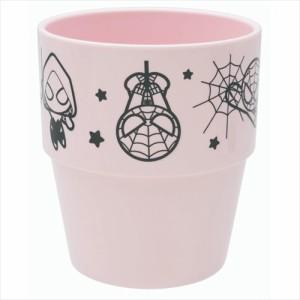 スパイダーマン&ヴェノム プラカップ スタッキングタンブラー カワイイアート マーベル 250ml キャラクター グッズ