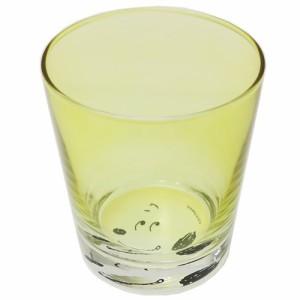 スヌーピー ガラスコップ SO-COタンブラー 横顔 YE ピーナッツ 新生活雑貨 キャラクター グッズ