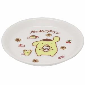 ポムポムプリン 小皿 10.5cm ミニプレート スイーツ&プリン サンリオ 日本製 キャラクター グッズ