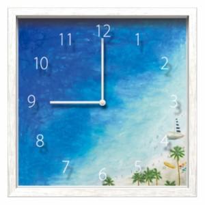 シマザキ ミユキ 掛け時計 Artist Clock CAC-51620 26.7×26.7×4.6cm 可愛い インテリア 取寄品 送料無料