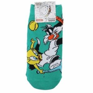 トゥイーティー&シルベスター 女性用 靴下 レディースソックス スポーツシリーズ テニス ルーニーテューンズ メール便可