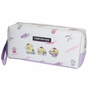 ポムポムプリン 筆箱 BOX ペンケース HAPPY LUCKY サンリオ キャラクター グッズ
