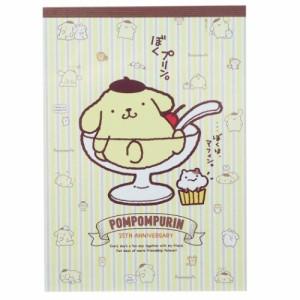ポムポムプリン メモ帳 A6 メモ トラディショナル サンリオ キャラクター グッズ メール便可