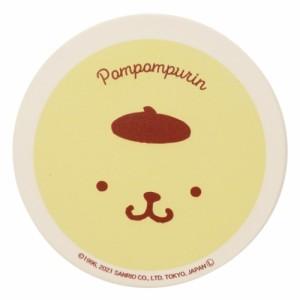 ポムポムプリン 吸水 コースター テーブルウエア フェイス サンリオ キャラクター グッズ メール便可