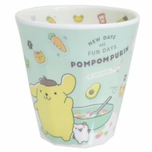 ポムポムプリン メラミンカップ Wプリント メラミンタンブラー サンリオ キャラクター グッズ
