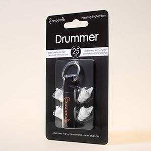 e4f26014cf2e74 Crescendo Drummer【ミュージシャン用イヤープロテクター(耳栓)】