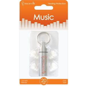 d33cfb5a1117c9 Crescendo Music【一般オーディエンス用イヤープロテクター(耳栓)】