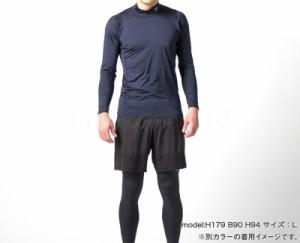 ee2a6095750 シースリーフィット インナーシャツ メンズ C3fit 無地 長袖・タートルネック cooling クーリング. C3fit