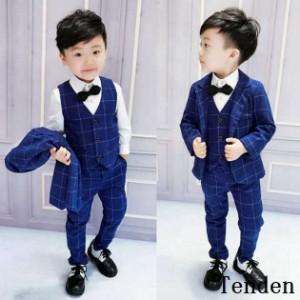 1f111c6d31e0e 男の子 スーツ フォーマル 子供 3点セット 入学式 七五三 発表会 男の子 男の子用スーツ