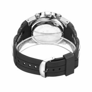 b20ef8e6b4 ブランドスポーツ腕時計 ホワイト クロノグラフメンズ軍事防水腕時計ファッションシリコンLEDデジタル腕時計男性
