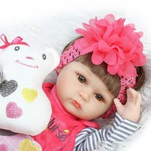 afddacc5cce29 リボーンドール リアル赤ちゃん人形 ハンドメイド海外ドール 衣装とおしゃぶり・哺乳瓶付き ぱっちり