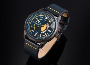 6a4ee8c806 CURREN メンズ腕時計 海外トップブランド メンズファッション クォーツ時計 アナログ ミリタリー(ブラックグリーン)