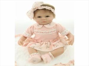 リボーンドール リアル 赤ちゃん人形 女の子 ベビー人形 ベビードール トドラードール リアル ハンドメイド 50センチ