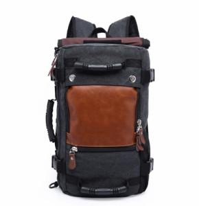 リュックサックアウトドアバッグ登山バッグ 防水大容量 軽量バックパック 3way 通学 旅行オックスフォードデイパック パソコンバッグ