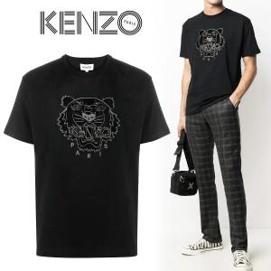 送料無料!!33 KENZO ケンゾー FA65TS0654YI タイガー ブラック Tシャツ