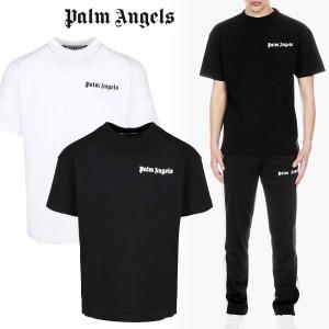 送料無料!!7 8 PALM ANGELS パーム エンジェルス PMAA055E20JER ロゴ 半袖 Tシャツ