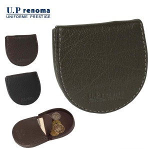 c92615cbec12 サイフ コインケース U.Prenoma U.P レノマ No:61R590 牛革 蹄鉄型 小銭入れ