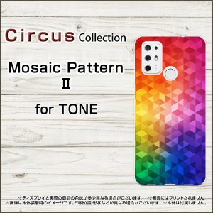 TONE e21 TONE e20 TONE e19 TONEモバイル スマホケース Mosaic pattern 2 ハード ソフト カバー