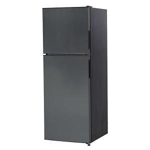 冷蔵庫 小型 一人暮らし 138L 2ドア冷蔵庫 新生活 コンパクト ミニ冷蔵庫 黒 ガンメタリック JR138ML01GM maxzen マクスゼン