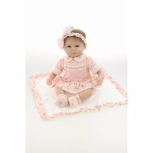 リボーンドール リアル 赤ちゃん人形 女の子 ベビー人形 ベビードール トドラードール リアル ハンドメイド 18インチ
