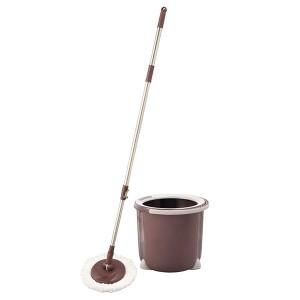 モップ トルネード回転モップ 丸型 セット TSM545 | 水拭き 掃除 フローリング 水切り 絞れる 拭き掃除 床