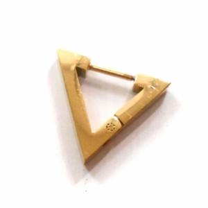 トライアングル 三角 ピアス 18G ゴールド 金 g-dragon 韓流 メンズ