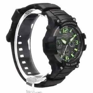1f9ef739f5 CASIO 時計 [カシオ] アナログクロノグラフ MCW-100H-3AV グリーン×ブラック [メンズ腕時計][メンズウォッチ][並行輸入品]