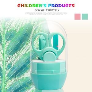 送料無料 赤ちゃん爪切り5点セット 収納ケース付き 出産祝いにも ベビーネイルケア お子さまのつめのお手入れに