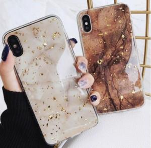 大理石風 ラメ iphoneケース 送料込 iPhone6/6s iPhone6plus iPhone7/8 iPhone7pl