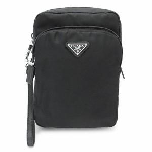 bfc390d1cda7 プラダ ポーチ PRADA メンズ セカンドバッグ ナイロン ブラック 黒 2NE011 064 F0002/TESSUTO+SAFFI