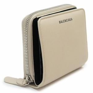 66c529fc7c73 バレンシアガ 折財布 レディース BALENCIAGA レザー ベージュ 516366 DLQ0N 2730