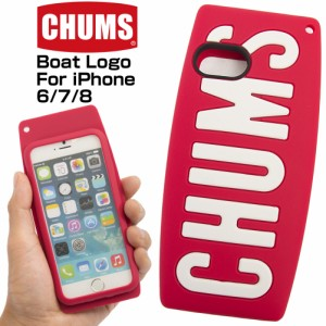 8b1fcba0ba チャムス / CHUMS ボートロゴ フォー iPhone6/7/8 Boat Logo For iPhone(モバイル