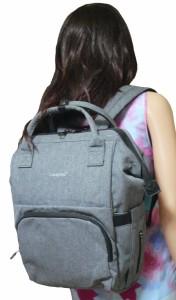 【マザーバッグの決定版】子育て通勤から出張、短期の旅行まで万能のTIGERNU T-B3358 ブラックとグレイの2色展開。