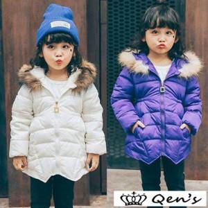 31cacdeeb5e6e 子供服 女の子 男の子 韓国子供 中綿ジャケット ファーコート 子供コート 冬服 男児 キッズ