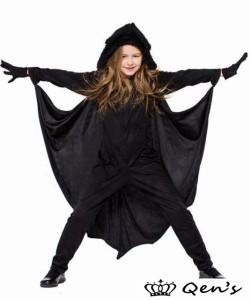 f4f5549938c58 子どもコスプレ コウモリコスチューム 魔女 ハロウィン cosplay 可愛い 仮装 送料無料 衣装 キッズ 子供用 ワンピース
