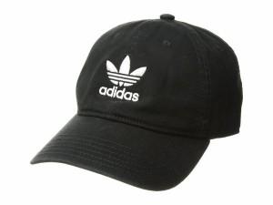 860b740f99a アディダス メンズ 帽子 アクセサリー Originals Relaxed Strapback Hat Black White
