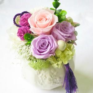 プリザーブドフラワー バラ 誕生日 花 ギフト プレゼント 結婚記念日 お祝い 本州は 送料無料