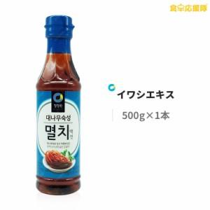 清浄園 竹熟成 イワシエキス 500g ミョルチ いわし 韓国調味料 キムチ