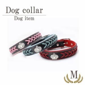 0b0e340c28d6 犬 首輪 犬の首輪 大冠 Mサイズ 小型 中型 アクセサリー dog 猫 ペット用品
