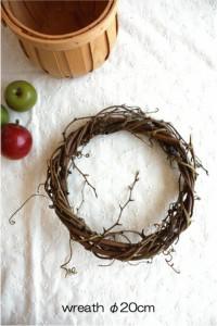 wreath 【ドライフラワー リース台 20cm 】