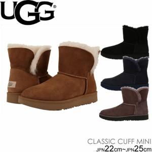 アグ レディース クラシック カフ ミニ ムートンブーツ UGG CLASSIC CUFF MINI 1016417
