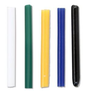 [ メール便可 ]  色ガラス棒 不透明タイプ 5色 単色 【 工芸 トンボ玉 作り ガラス 】