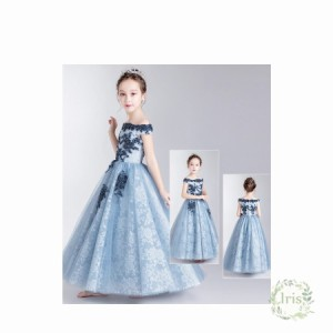 8d2379aceea 子供ドレス ロング ピアノ発表会 チュール ワンピース 子どもドレス フォーマル 七五三 ジュニアドレス ピンク シャンペン グリーン