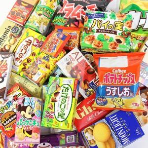 (地域限定送料無料) まとめ買い!イベントにも!人気商品を箱いっぱいに詰め込んだお菓子セット(33種・計42コ)おかしのマーチ クール便