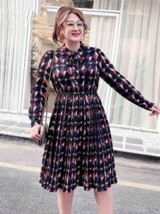 1b2e51b816c0c ワンピース シフォン 長袖 大きいサイズ パーティー ドレス 20代 30代 40代 発表会 リーズナブル