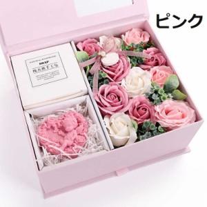 ソープフラワー 枯れない花 花 フラワー 花束 創意ギフトせっけん花 フラワー ラブ ギフト プレゼント バラ  母の日  バレンタインデー