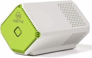 小型空気清浄機 プラズマクリア Plasma Clear フィルターレス 正規販売店 バッテリー内蔵 ホワイト 持ち運びに便利 送料無料