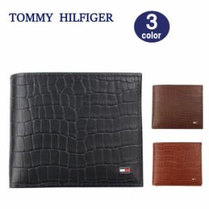 c0146e35a57a トミーヒルフィガー 財布 31TL130060 クロコデザイン 二つ折り財布 メンズ トミー TOMMY HILFIGER ag-1691
