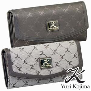 9213506366c3 ユリ・コジマ(Yuri Kojima) ジャカードコインが分けられる長財布 ロング