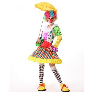 36254b1df82468 ピエロ衣装 コスチューム コスプレ道化師 トランプ/王女 魔女 巫女 女王 ピエロ服 ハロウィン クラウンボーイ
